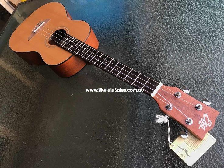 Product Page Baritone - Cedar Top Mahogany Body  at  Ukelele Sales