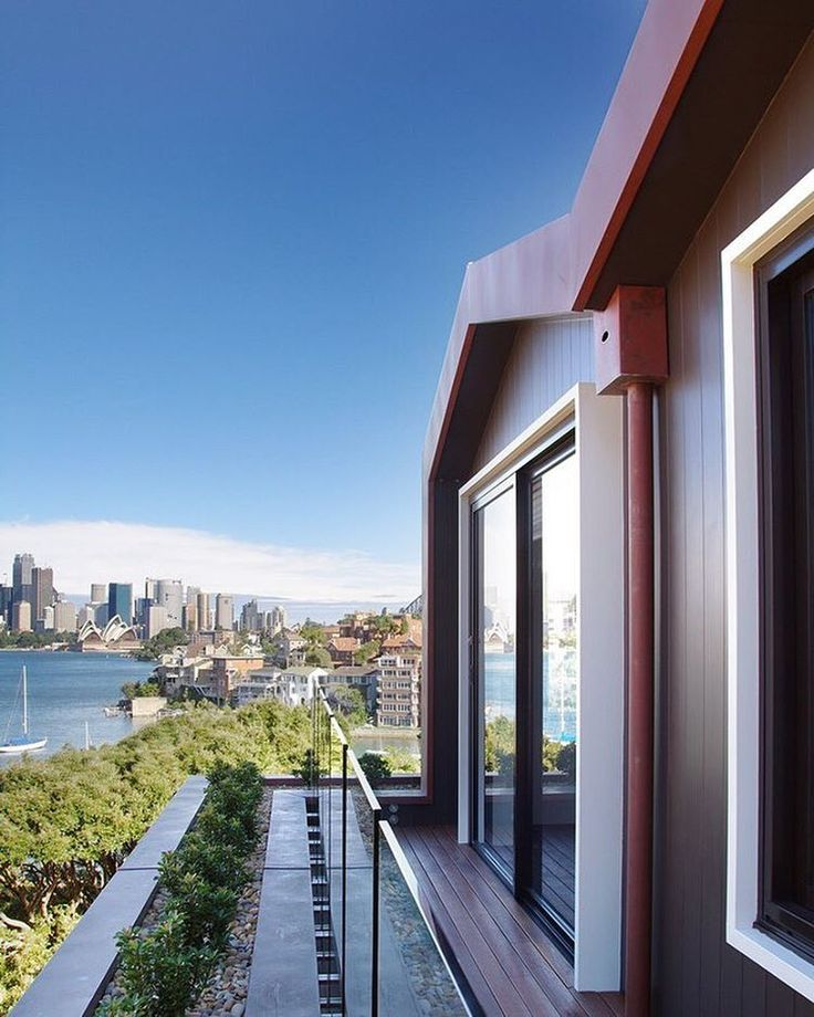 Cremorne house addition by #foxjohnston #sydneyharbour #views #houses #built