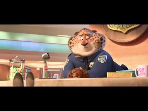 Zootopia - Clips en Español Latino(Audio Gravado Cine) Disney Channel OF...
