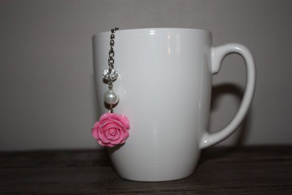 Elegant Pink Resin Rose 2 Inch Single Serve by ForTheLoveOfColour
