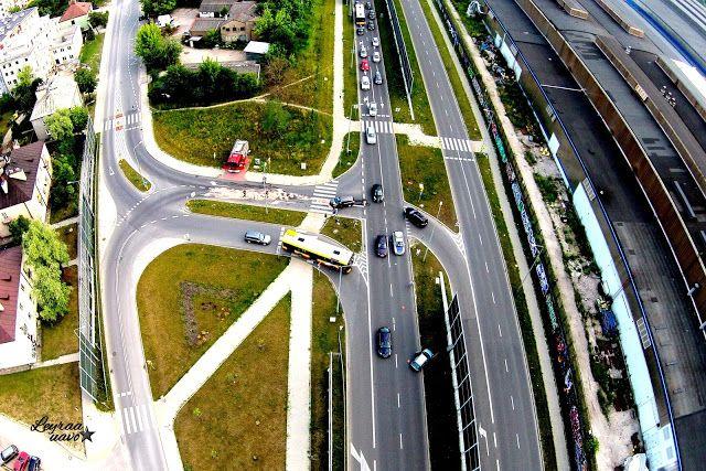 Leyraa-UAVO Zdjęcia i Filmy z drona / Usługi Dron / Licencjonowany Pilot UAVO / Kielce / VBLOS: Około godziny temu wypadek na połączeniu ulicy Ste...