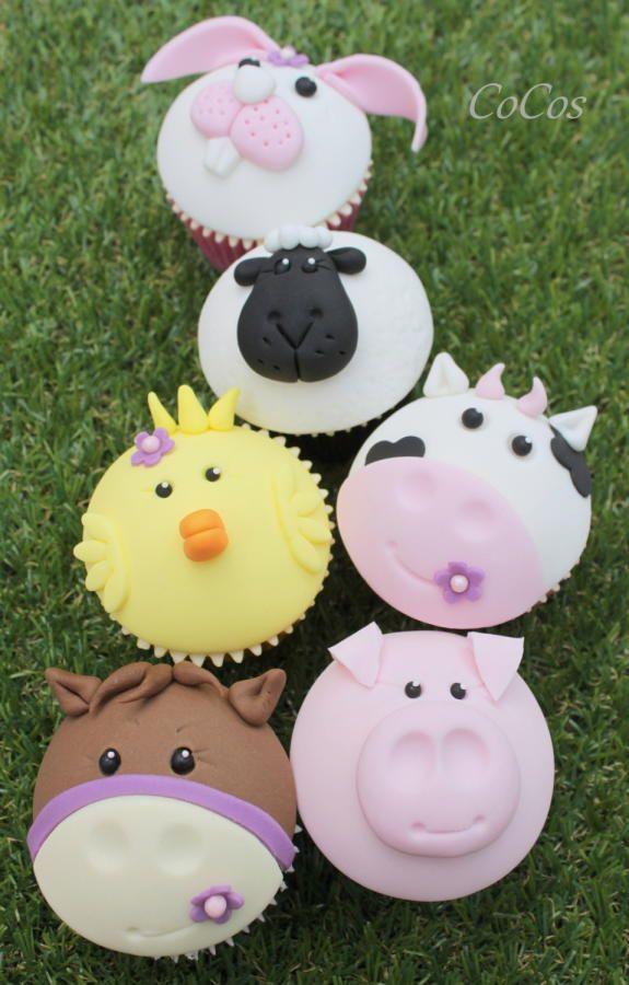 Animal Cupcakes  by Lynette Brandl