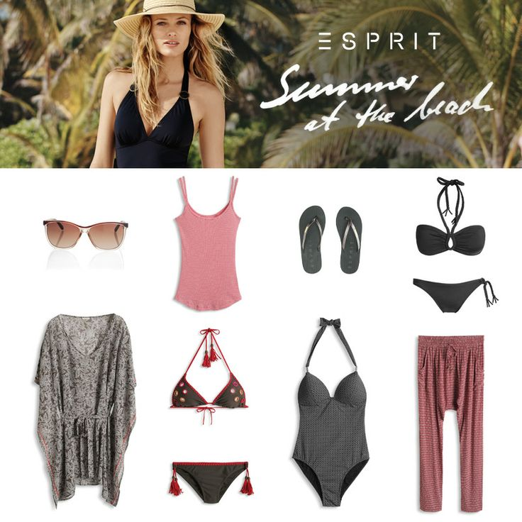 Welcome the #summer with our new #beachwear collection. Perfect for the #lake, #beach or for #vacation at the sea.