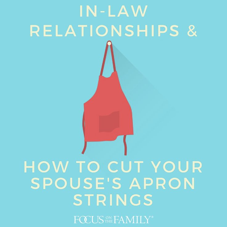 Maintaining relationships with parents is often beneficial, but not if one spouse relies too heavily on his or her family of origin.