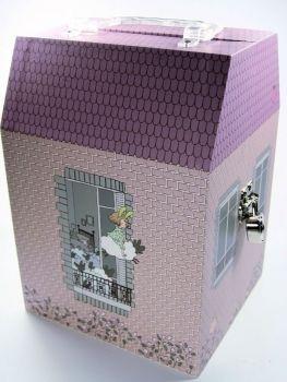 Spieluhr-welt - Spieluhr Puppenhaus Ange Lapin