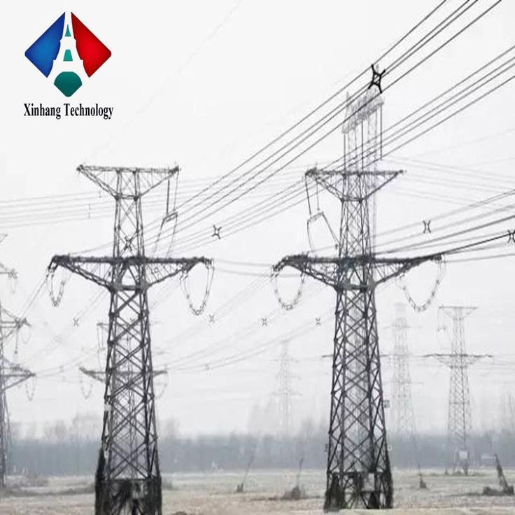 Price for 230kv power transmission tower 550kv electrical mast galvanized steel pole with cross arm