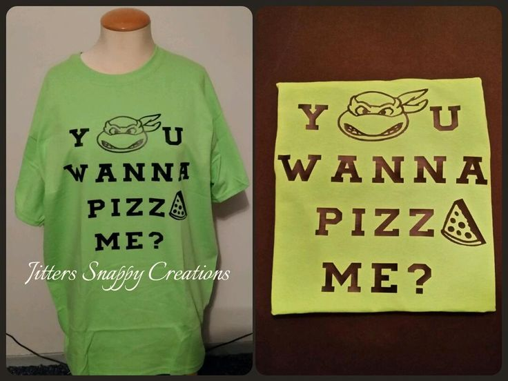 Do You Wanna Pizza Me? T-Shirt by JitterSnappyCreation on Etsy
