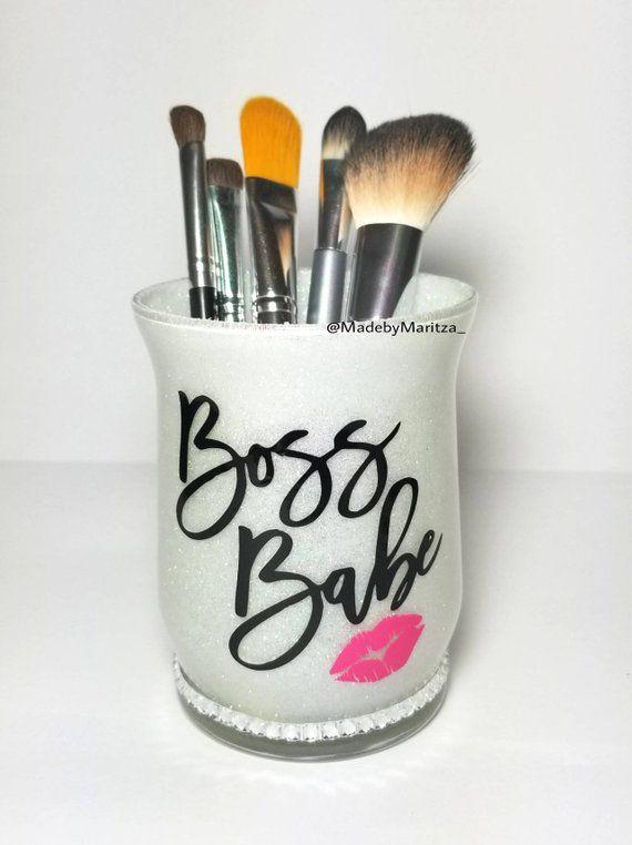 b132c783a43f Handmade Products Bag Organizers Pink Makeup Brush Holders Teen ...
