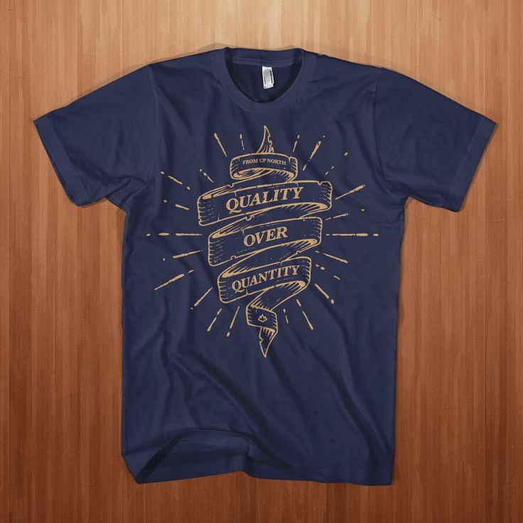 From up North Limited-Edition T-shirt, Navy