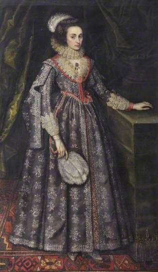 Portrait of an Unknown Lady by Paulus van Somer I (style of) National Trust Date painted: c.1615/1620