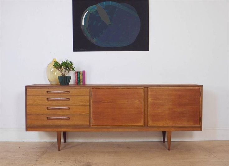 Original Mid Century Designer Sideboard by Alfred Cox in Antiques, Antique Furniture, Sideboards