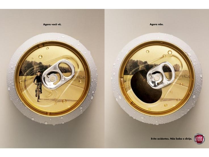 Evite acidentes. Se beber, não dirija.