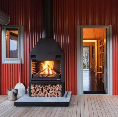 Fireplaces by Warmington. Outdoor Fireplace Gas Wood Open Outdoor fireplace- New Zealand - Fireplaces by Warmington, Outdoor Open, Gas fires, Wood Burner, Pizza ovens, Fire place, Fireplaces,fireplace,Outdoor,Alfresco, Wood Fires
