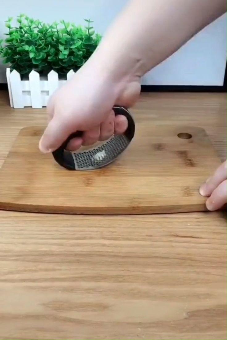 Stainless Steel Garlic Presser 😍