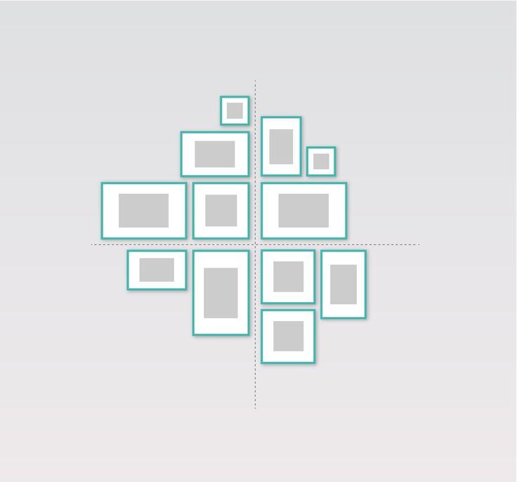 die besten 25 fotowand gestalten ideen auf pinterest. Black Bedroom Furniture Sets. Home Design Ideas