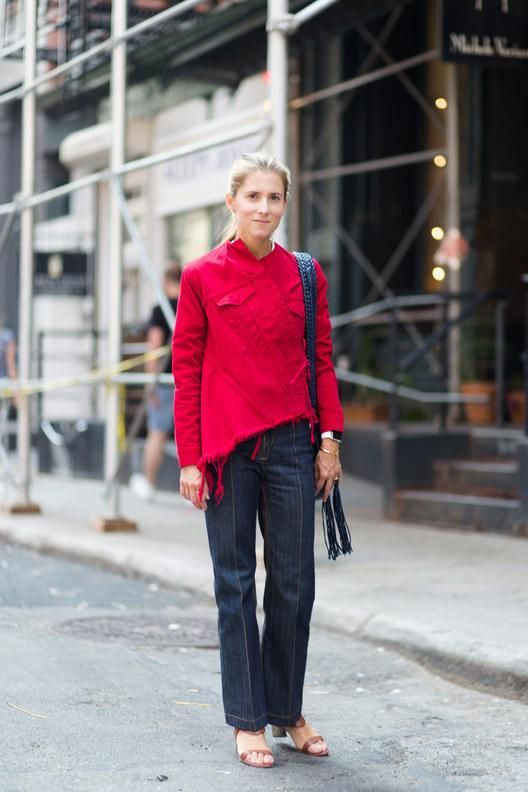 Editor street style for new york fashion week