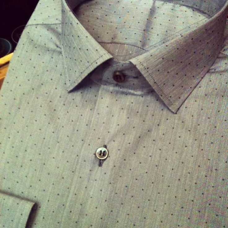 Handmade polka dot shirt! By Christakis Athens