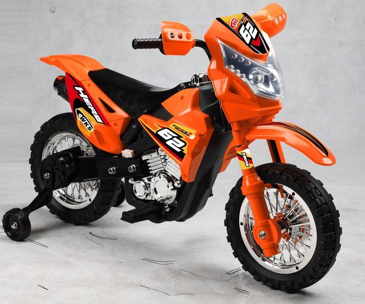 Boy's Vroom Rider VR093 Battery Operated 6V Kids Dirt Bike