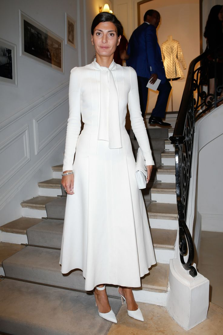 Christian Dior Fall 2016 Couture Giovanna Battaglia - Front Row Celebrity Photos - Vogue