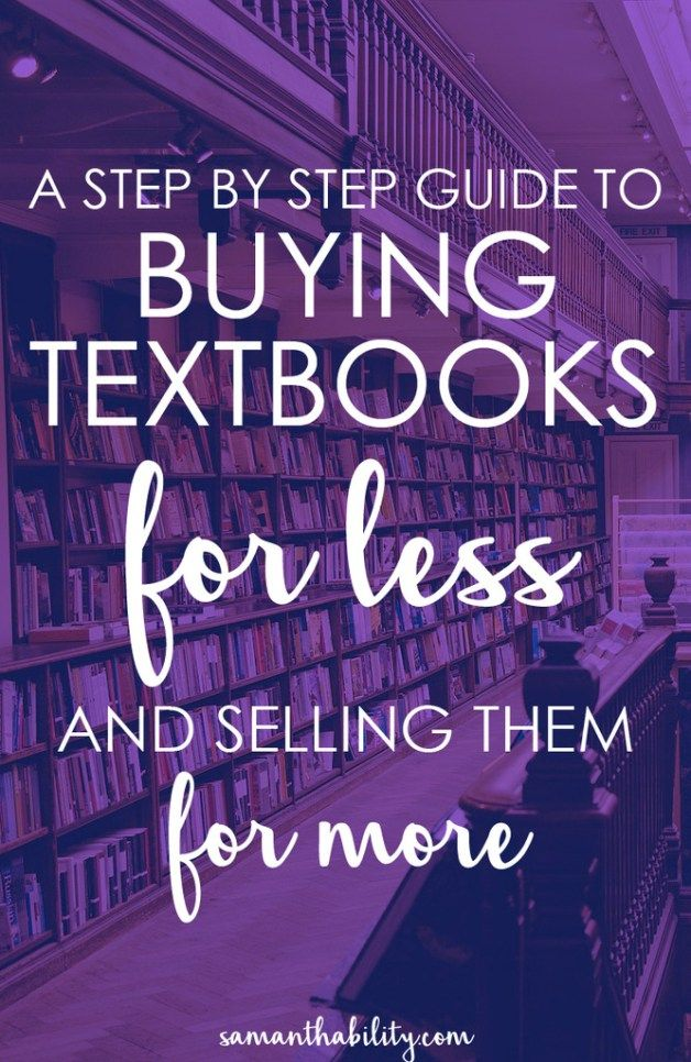 The 25 best sell textbooks online ideas on pinterest sell your a step by step guide for how to buy textbooks for less and sell them for fandeluxe Choice Image