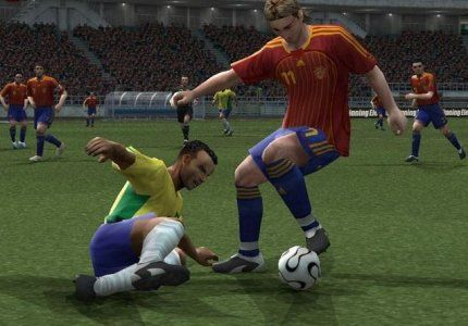 Pro Evolution Soccer 6 Game Screenshot