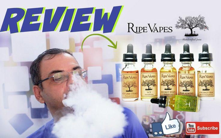 Ripe Vapes high quality E-liquids - δοκιμές τεστ και προσωπικές απόψεις