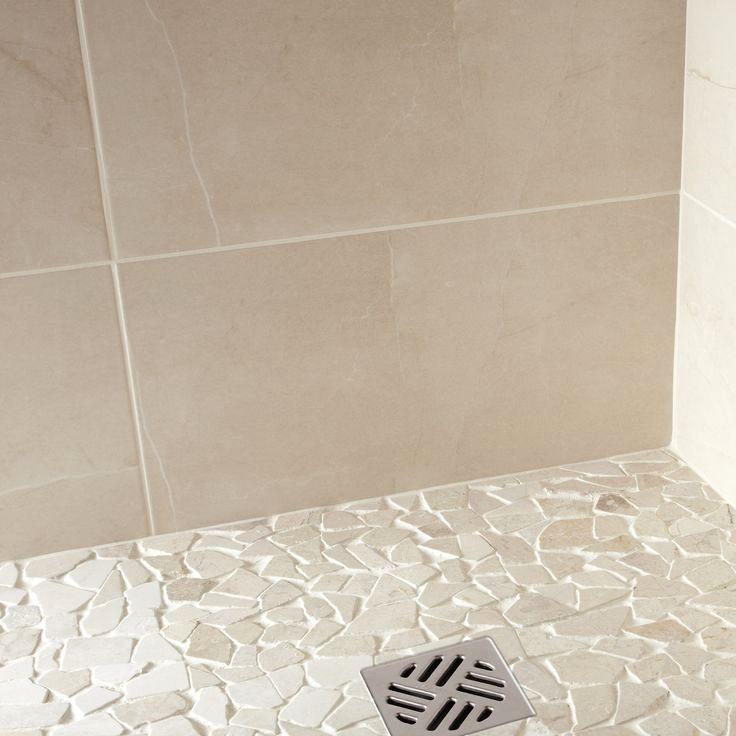 carrelage salle de bain beige trick