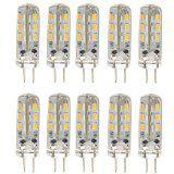 10ST energiesparende G4 DC 12V 15 w 24 3014 SMD LED Lampen-LED Lampen leuchten (warmweiß) Reviews