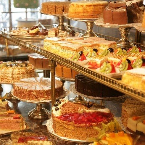 Demel in Vienna: Inside Demel, you can watch pastry chefs baking and decorating cakes as you enjoy a slice of your own. There's also a cake museum hidden in the back.