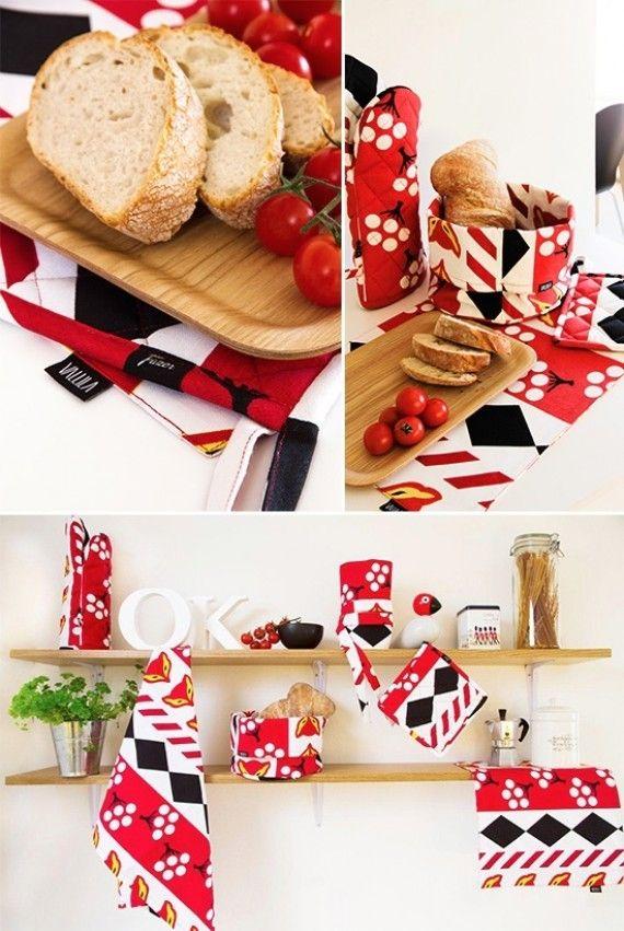 Vallila Karkkipäivä kitchen accessories