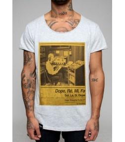 T-shirt Dope Re Mi Col rond et large Composition 100% coton 35,00€