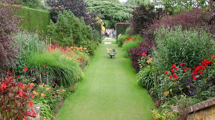 37 best images about herbaceous borders on pinterest for Garden design history