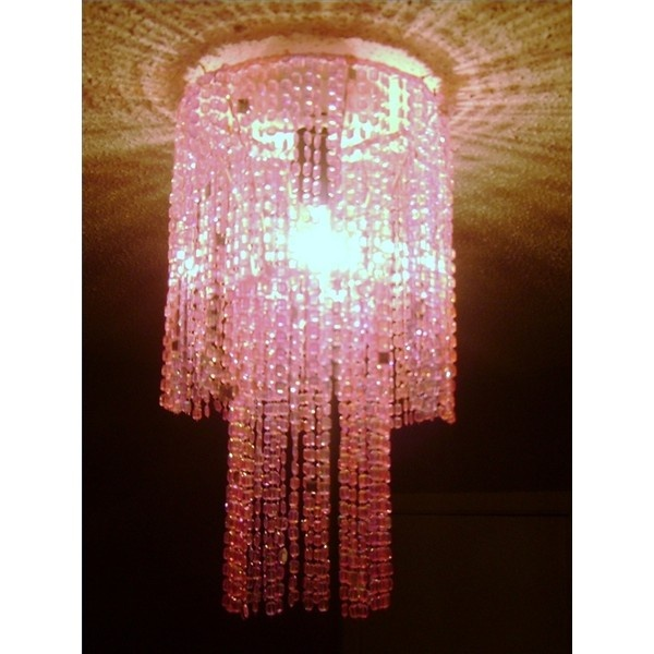 How to Make a Chandelier Out of Door Beads | eHow.com ❤ liked on Polyvore