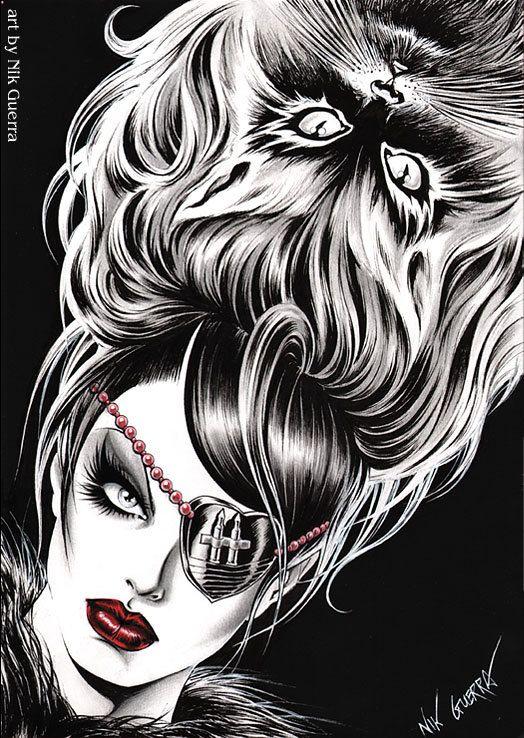 Original Nik Guerra art illustration / by NikGuerraOriginalArt