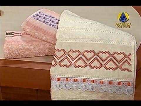 A artesã Lígia Maria Fiedler nos ensina a fazer bordado em toalha de ponto vagonite.    Sabor de Vida: de segunda à sexta às 15h, na Rede Aparecida    REDE APARECIDA  A TV de Nossa Senhora  http://www.A12.com/tv  http://twitter.com/redeaparecida  http://twitter.com/tvaparecida  http://twitter.com/sabordevida  http://facebook.com/sabordevidaoficial