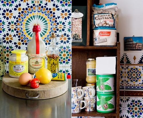 Piet Zwart Keuken Blauw : gekleurde tegels #keuken #tegelinspiratie #tegels Jacob Cats