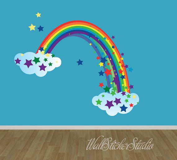 17 Best Ideas About Rainbow Wall On Pinterest Rainbow