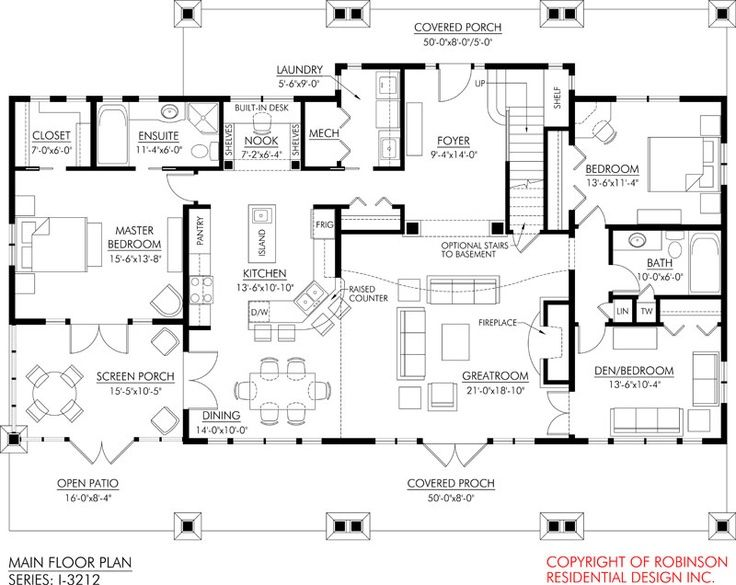 English cottage floor plans click to open image for Open floor plan cabin