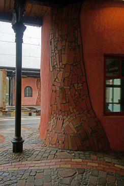 #Hundertwasser Bahnhof in #Uelzen