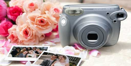 """instax"" is an instant camera that prints photos on the spot. Just by pressing the shutter, the film pops out and the picture gradually appears. It is perfect for capturing your precious moments in life and keeping them as prints."