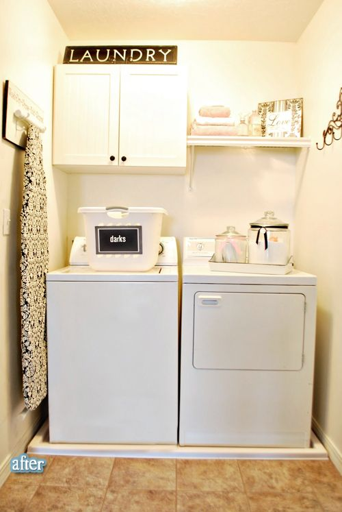 Bliss! I love laundry and it would be so much more fun to do it in a space like this!