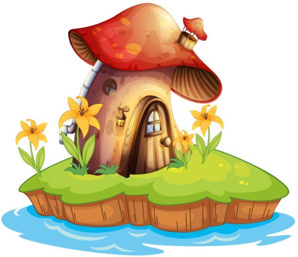 Champignonspngtubes Artesanias Pinterest House Mushrooms And