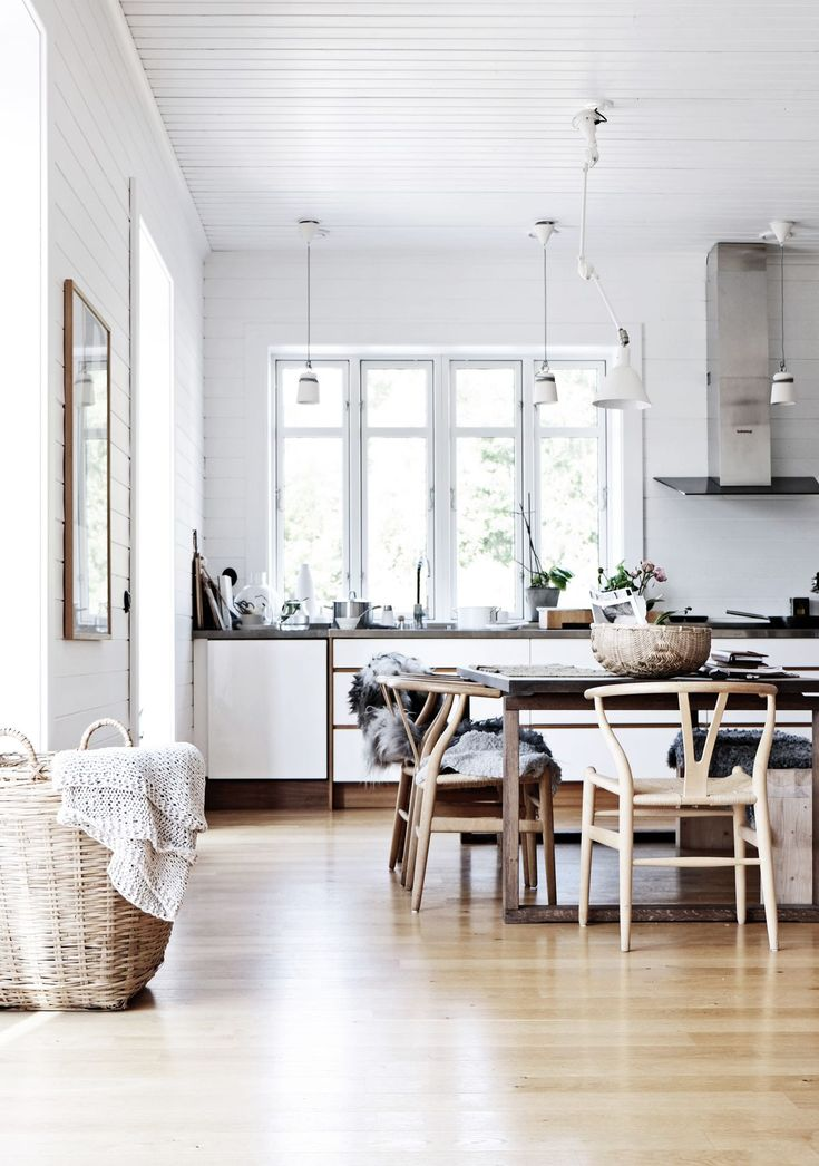 Luxe living + kitchen