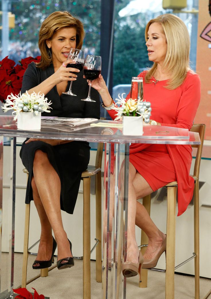 Today Show hosts Hoda Kotb and Kathie Lee Gifford, 2012. Getty Images  - ELLE.com