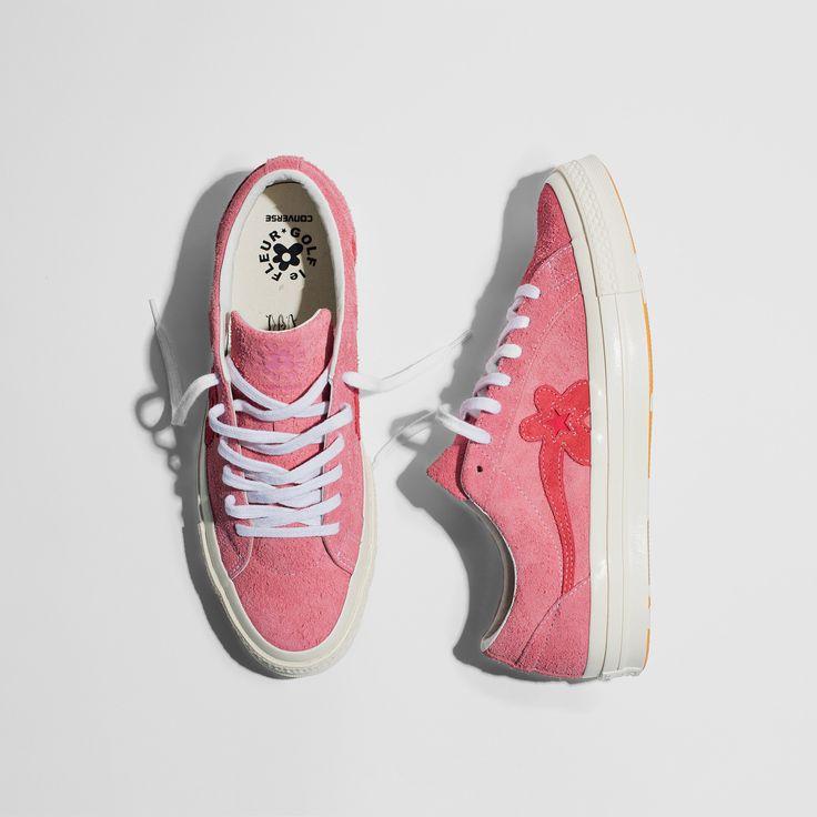 Sneakers women - Converse Golf Le Fleur pink