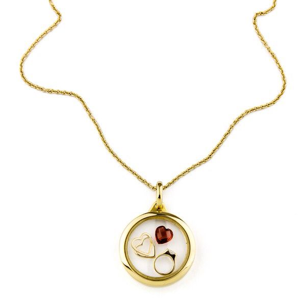 Say I love you with this Stow Locket. Available at Charlton Jewellers