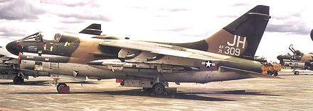Pilots of the early A-7s lauded the aircraft for general ease of flying (with the exceptions of poor stability on crosswind landings and miserable stopping performance on wet runways with an inoperative anti-skid braking system) and excellent forward visibility but noted a lack of engine thrust. This was addressed with A-7B and more thoroughly with A-7D/E. The turbofan engine provided a dramatic increase in fuel efficiency compared with earlier turbojets – the A-7D was said to have specific…