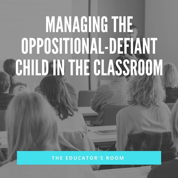 Some of the most challenging students I've had to teach have been those with Oppositional-Defiant Disorder. These are the students who challenge the behavioral norms in the classroom, often show low academic achievement, and lack motivation. Thankfully, there is plenty of research behind teaching these tough nuts to crack and lots of resources out there