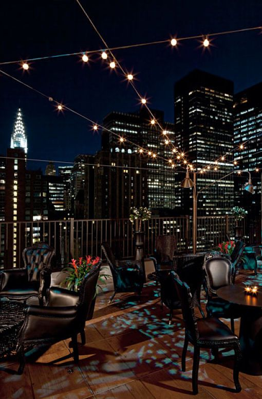 What A Nice View Atmhosphere Upstairs Nyc Rooftop Bar And Lounge Etips Beautiful Places Travel Plan Pinterest