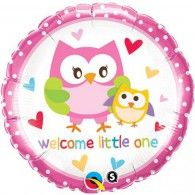 45cm Welcome Little One Owls $9.95 Q18436